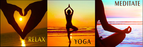 RELAX ~ YOGA ~ MEDITATE ~ A three album compilation set of the very best Ambient New Age music by Paul Avgerinos.  (PRNewsFoto/Round Sky Music)