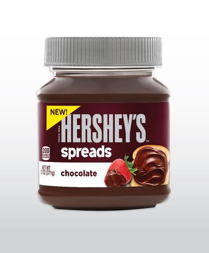 HERSHEY MAKES EVERYTHING MORE DELICIOUS WITH NEW LINE OF SWEET, CREAMY HERSHEY'S SPREADS. (PRNewsFoto/The ...