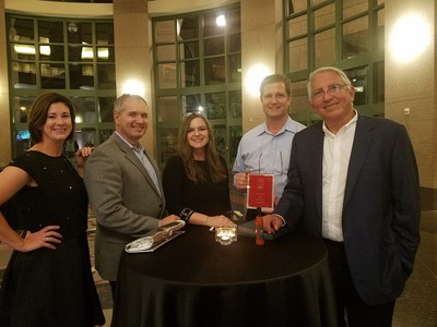 First Orion Team (from left to right): Allison Owen, VP of Client Services; Craig Dunne, CFO; AlexAnne Pitts, Client Services Manager; Scott Hambuchen, EVP; and Charles Morgan, CEO