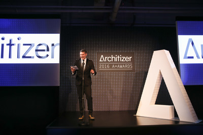 Marc Kushner, CEO, Architizer at last night's A+ Awards in NYC.Photo credit: Sam Deitch/BFA.com