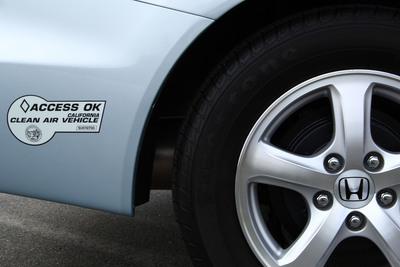 Honda Leads Industry with Four Vehicles Eligible for California Carpool Lane Access.  (PRNewsFoto/American Honda Motor Co., Inc.)
