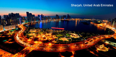 Greetings from Sharjah of the United Arab Emirates, Land of Opportunity for U.S. Investors, Trade and Tourism.  (PRNewsFoto/Sharjah, United Arab Emirates)