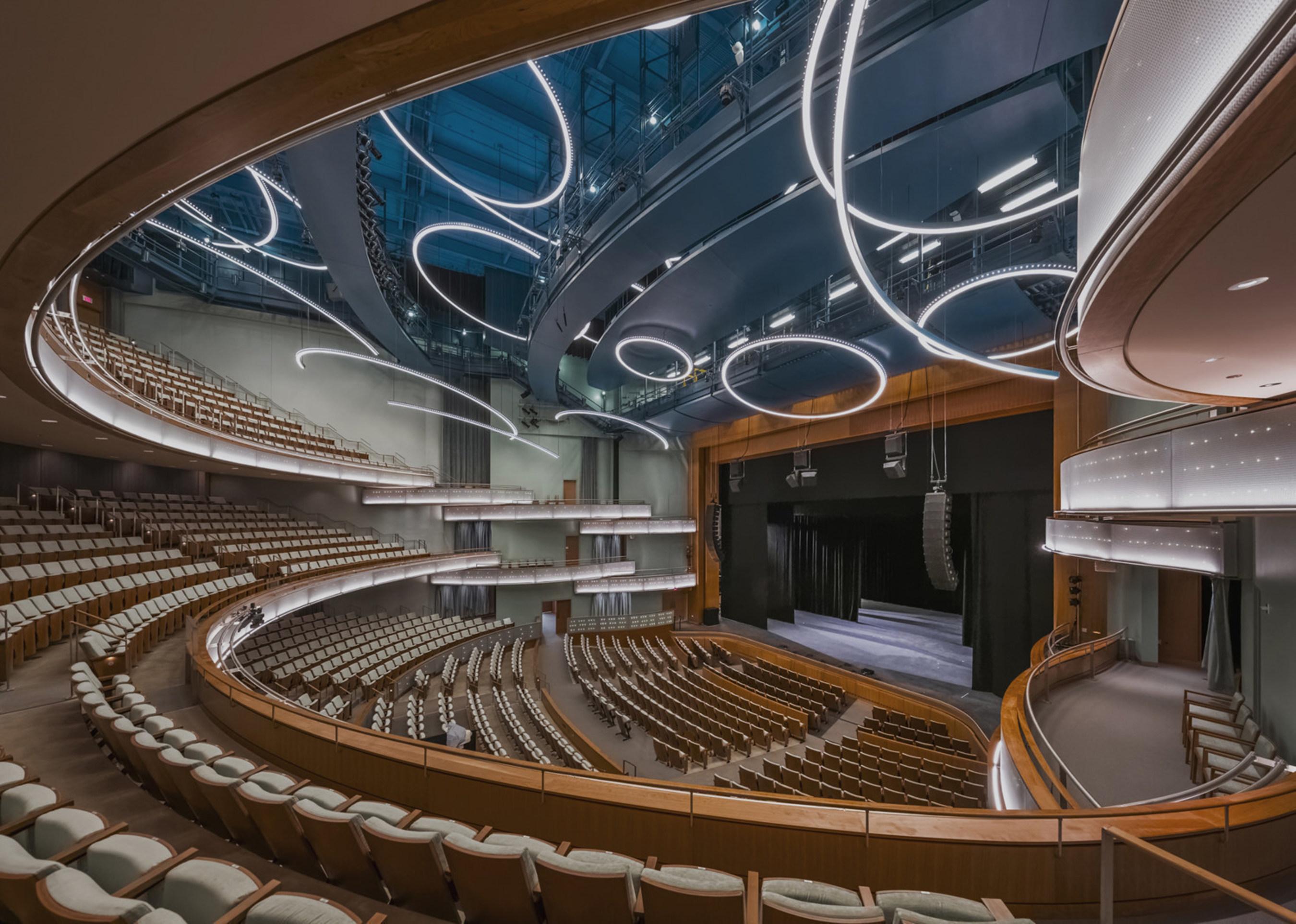 Hancher Auditorium, University of Iowa, photo by Jeff Goldberg/Esto
