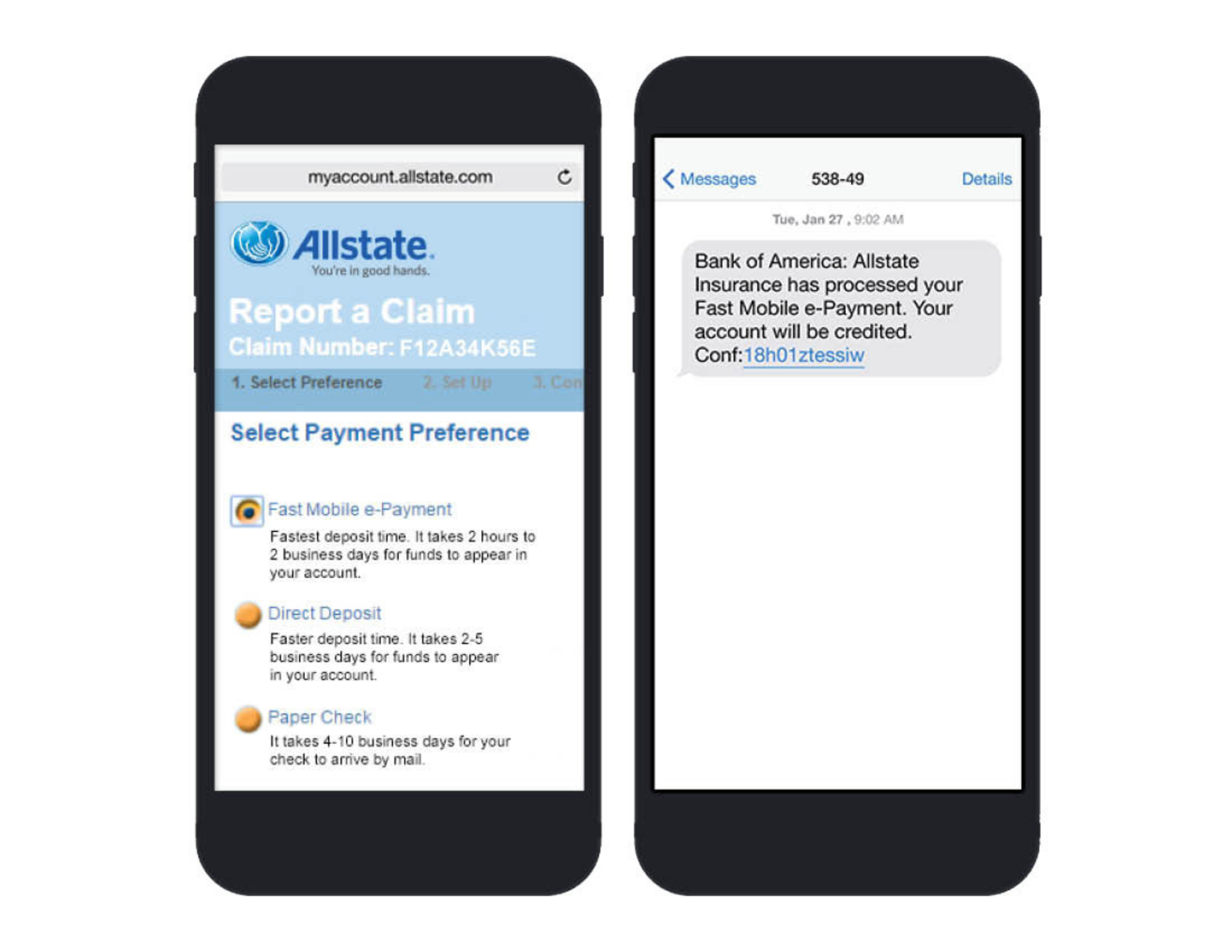 Allstate My Account >> Allstate Unveils Fastest Claims Payment In The Industry