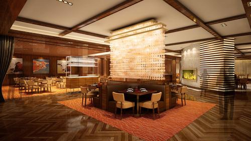 BLT Steak Bally's dining room rendering.  (PRNewsFoto/Bally's Las Vegas)