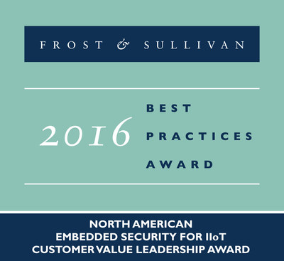 Symantec Corporation Receives 2016 North America Embedded Security for IIoT Customer Value Leadership Award