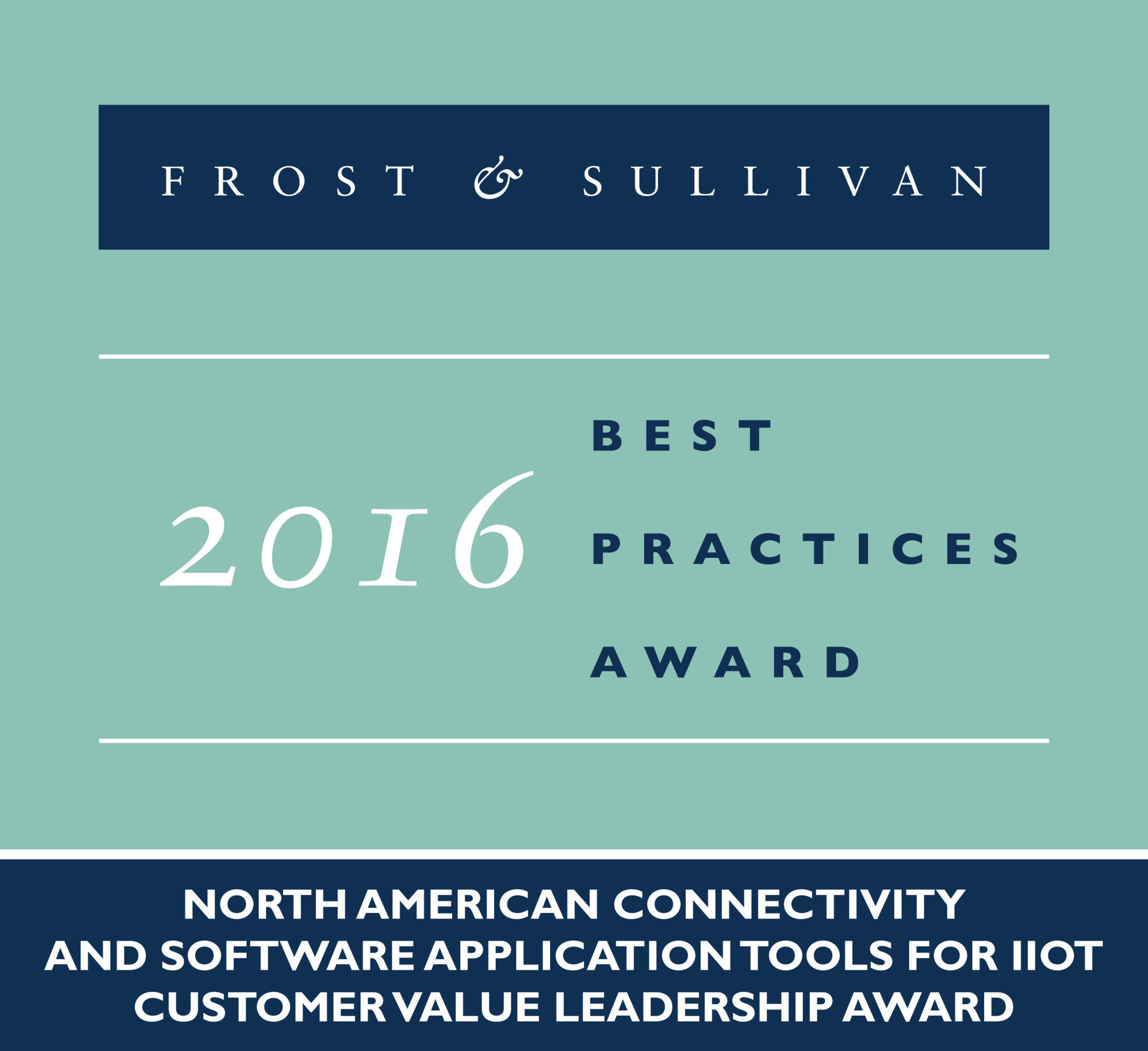Frost & Sullivan Recognizes Numerex with 2016 Customer Value Leadership Award for Its Seamless and