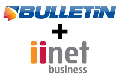 iiNet Teams with Bulletin to Introduce Business Mobile Messaging Service (PRNewsFoto/Bulletin.net)