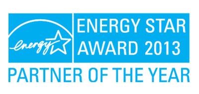 LG Electronics was named 2013 Energy Star Partner of the Year for the second year in a row by the U.S. Environmental Protection Agency.  (PRNewsFoto/LG Electronics USA, Inc.)