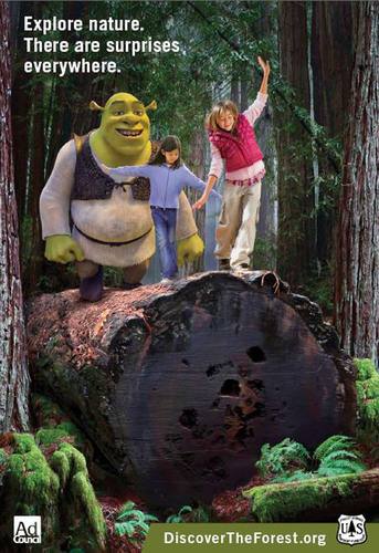 USDA Forest Service and Ad Council Join DreamWorks Animation to Launch New PSAs Featuring Shrek to