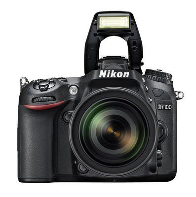 Nikon Corporation: DX-format D7100 digital SLR camera (PRNewsFoto/Nikon Corporation)