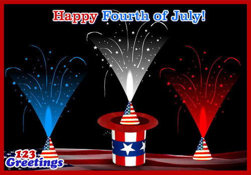 4th Of July Fireworks - Real & Virtual - Charm People On The Holiday