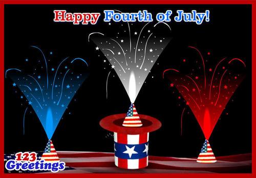 Happy 4th of July.  (PRNewsFoto/123Greetings.com)