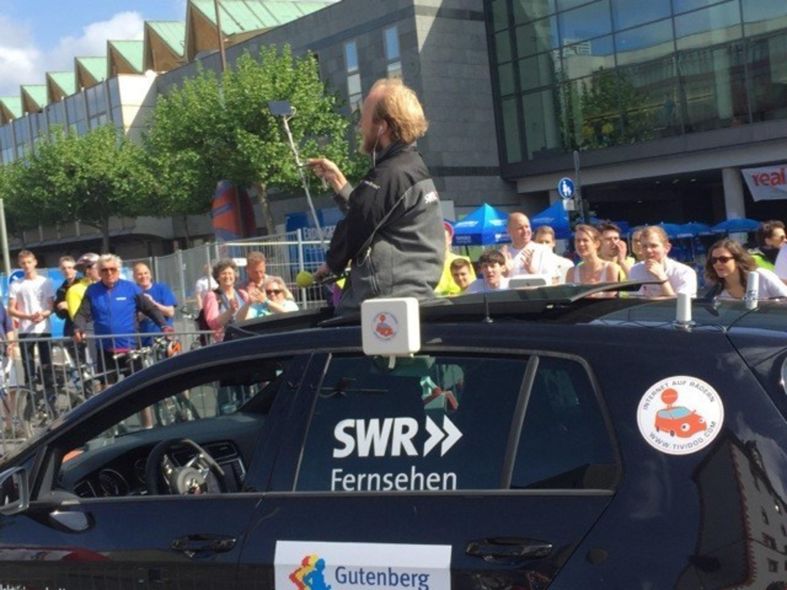 tividoo kehrt mit LiveU auf die Straßen von Mainz für erweiterte SWR-Berichterstattung zum