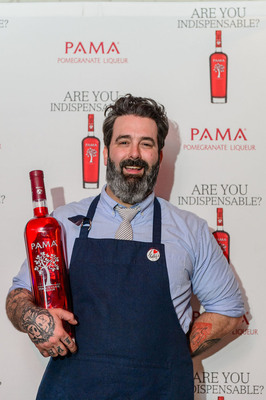 """PAMA Pomegranate Liqueur Announces Grand Prize Winner of the First-Ever """"Are You Indispensable?"""" Cocktail Competition: Ryan Gannon (Cure, New Orleans).  (PRNewsFoto/PAMA Pomegranate Liqueur)"""
