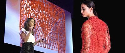 Danit Peleg presents her process of creating 3D printed garments.