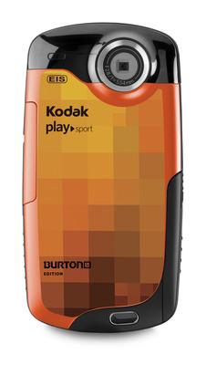 KODAK PLAYSPORT Video Camera, BURTON Edition.  (PRNewsFoto/Eastman Kodak Company, Stephen Kelly)