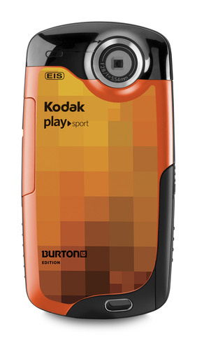 KODAK PLAYSPORT Video Camera, BURTON Edition.  (PRNewsFoto/Eastman Kodak Company, Stephen Kelly)