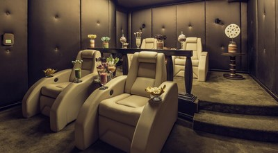 The Abu Dhabi Suite's private cinema is transformed into a candy wonderland (PRNewsFoto/The St. Regis Abu Dhabi)
