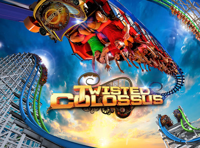 World-Record Breaking Hybrid Coaster Coming to Six Flags Magic Mountain in 2015 (PRNewsFoto/Six Flags Entertainment Corp)
