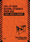 Visit BoostUp.org to learn how to support and encourage students across America.  (PRNewsFoto/The Ad Council)