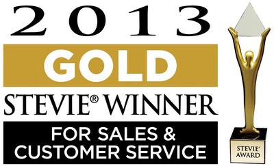 VIZIO WINS 'TOP 10' AWARD AND SEVEN STEVIE(R) AWARDS AT THE 7th ANNUAL STEVIE AWARDS FOR SALES & CUSTOMER SERVICE.  (PRNewsFoto/VIZIO, Inc.)
