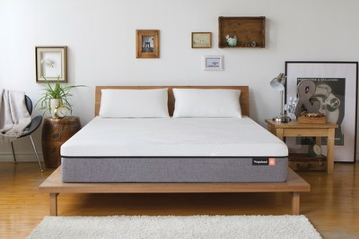 Yogabed luxury foam mattress with removable, washable cover and free pillows, free delivery and risk-free trial; order online at Yogabed.com, it's delivered to your door in a box.
