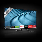 VIZIO Reveals Highly Anticipated P-Series Ultra HD Full-Array LED Smart TV Collection, Combining Unparalleled Picture Quality and Advanced Performance for the Ultimate Entertainment Experience. Award-Winning Collection Features Advanced Local Dimming with Up to 72 Active LED Zones, Spatial Scaling Engine for Beautiful Upscaling of HD Content to 4K Ultra HD and VIZIO's V6 Six-Core Processor for Powerful Performance. (PRNewsFoto/VIZIO, Inc.)
