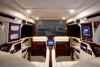 """Interior of the Lexani Motorcars """"Sky Captain"""" Edition Escalade Conversion"""