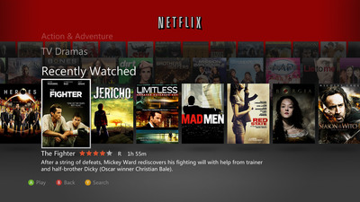 Netflix Unveils New Xbox 360 Experience, Expands Xbox Support To Latin America.  (PRNewsFoto/Netflix, Inc.)
