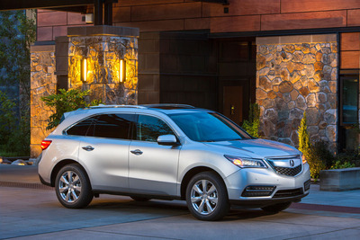 Acura MDX Earns Kiplinger's Personal Finance 2014 Best Value Award.  (PRNewsFoto/Acura)