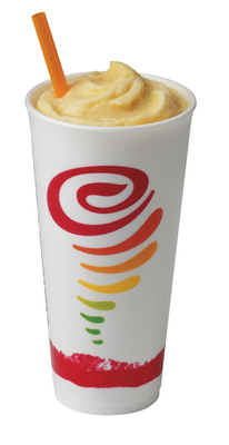 All-new Eggnog Jubilee, a low-fat twist on a holiday favorite. (PRNewsFoto/Jamba Juice Company)