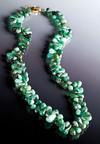 Stauer's Cayman Emerald Necklace, $79 available at www.stauer.com.  (PRNewsFoto/Stauer Jewelry)