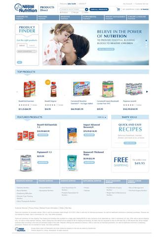 Nestle Health Science Debuts Innovative Web Destination