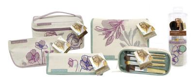 EcoTools by Alicia Silverstone cosmetic bag collection.  (PRNewsFoto/EcoTools)