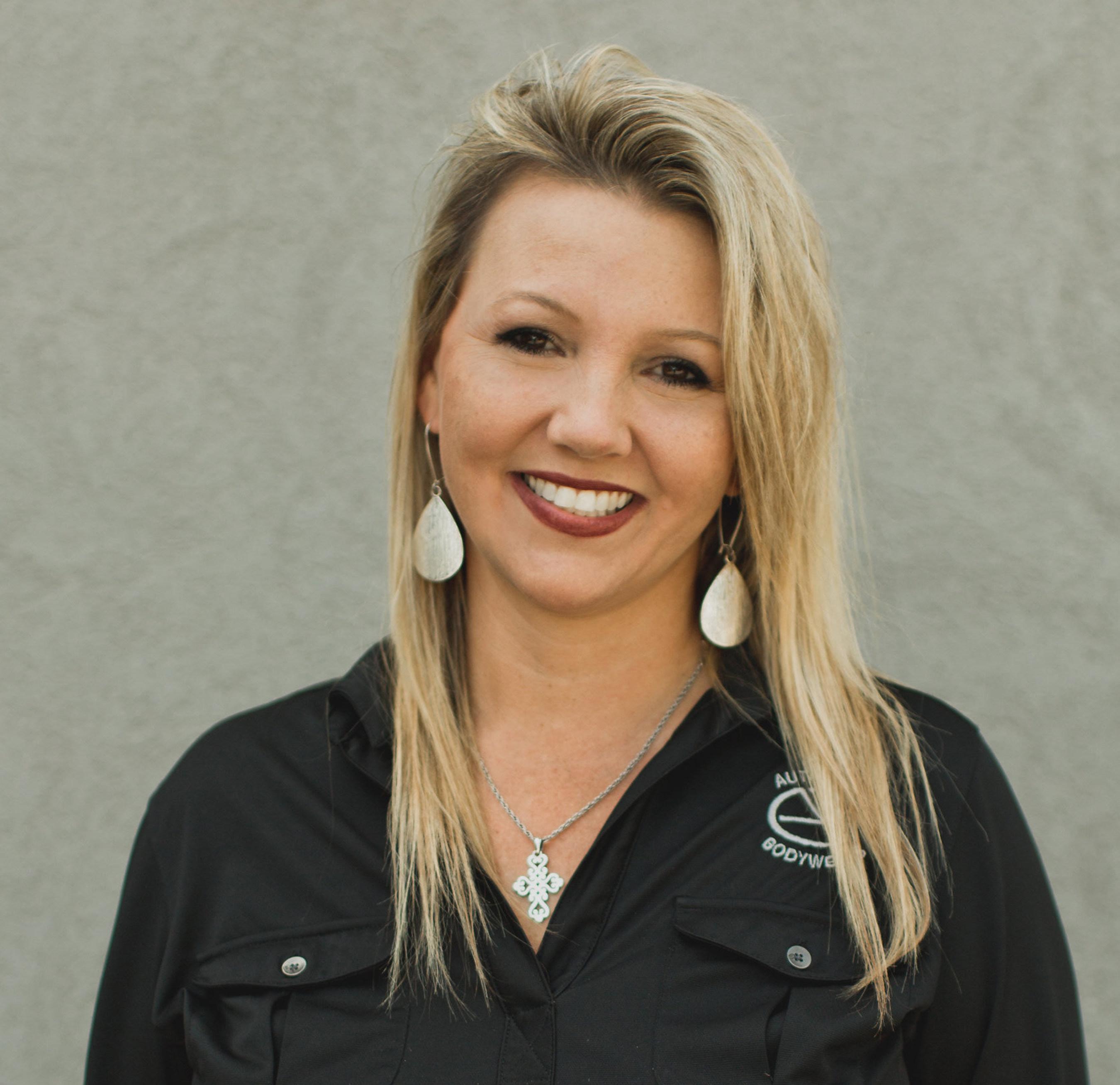 Autocraft Bodywerks General Manager Tammie Harper.