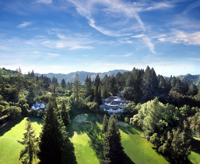 Aerial view of Meadowood Napa Valley. (PRNewsFoto/Meadowood Napa Valley) (PRNewsFoto/MEADOWOOD NAPA VALLEY)