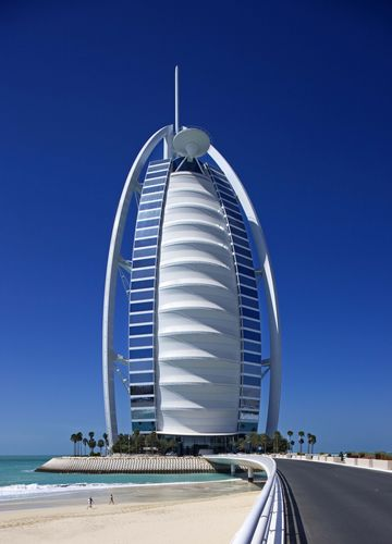 Burj Al Arab on 1 December 1999 (PRNewsFoto/Burj Al Arab)