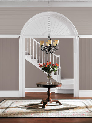 Entryway in Poised Taupe (SW 6039), Sherwin-Williams 2017 Color of the Year.