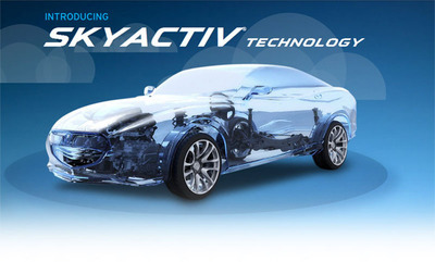 SkyActiv technology helps new 2014 models such as the Mazda6 to achieve fuel economy ratings up to 40 mpg. (PRNewsFoto/Ocean Mazda)