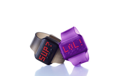 New Hallmark Text Bands allow kids to exchange messages band to band by bumping fists or shaking hands. Text Bands starter kits cost $14.99 and now are available at Hallmark Gold Crown® stores.