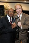 Jerry Flannery, executive vice president and general counsel of Hyundai Motor America, presented legendary civil rights attorney Fred Gray with a Lifetime Achievement Award.