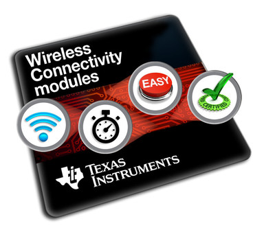 Connect more with TI's portfolio of wireless connectivity modules