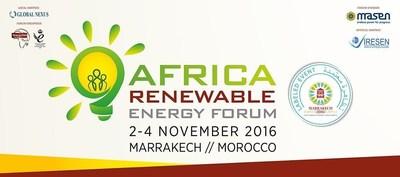 Africa Renewable Energy Forum, side event COP22, 2-4 November, Marrakesh (PRNewsFoto/EnergyNet)