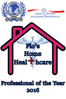 Flora H. Sowell Selected as Professional of the Year In-Home Healthcare (2016), Inducted into Hall of Fame.  (PRNewsFoto/America's Registry of Outstanding Professionals) |||