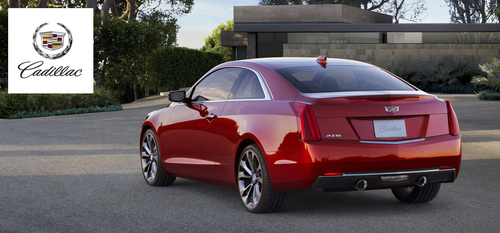 The 2015 Cadillac ATS Coupe is one of several new vehicles that will arrive at the Sheboygan Cadillac lot in the coming months.  (PRNewsFoto/Sheboygan Cadillac)