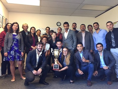 San Diego-based marketing and sales firm Triton was presented with the Campaign Cup award for outstanding results in Q3 on behalf of a leading solar client. The team is led by president Jesha Casenas.