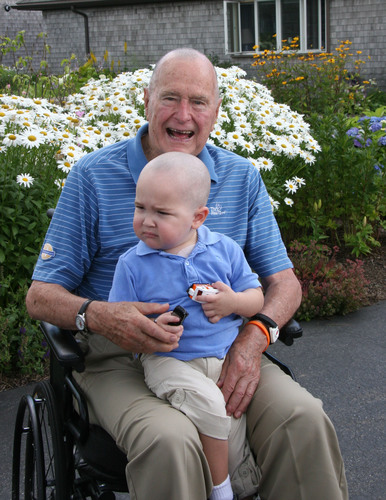 President George H. W. Bush has been named the first Honorary Ambassador to the Be Bold, Be Bald! movement ...