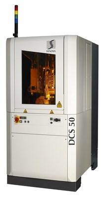 Synova introduces new 5-axis DCS 50 Laser Diamond-Cutting Machine for Coning and Blocking at JCK Las Vegas (PRNewsFoto/Synova S.A.)