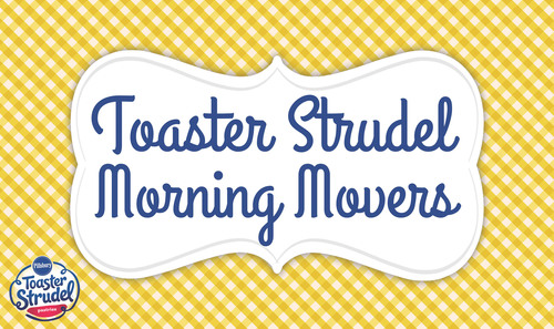 "Pillsbury Toaster Strudel gets fans up & out of bed by making select morning wishes a reality at www.facebook.com/toasterstrudel under the ""Morning Movers"" tab. (PRNewsFoto/Pillsbury Toaster Strudel) (PRNewsFoto/PILLSBURY TOASTER STRUDEL)"